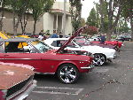 Classic Mustang Day at Super Car Sunday and Cruise, August 24, 2014